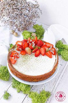 Matcha yoghurt cheesecake - sernik jogurtowy z matcha