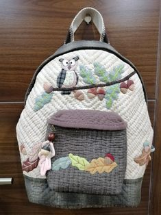 Owl Backpack, Fashion Backpack, Backpacks, Quilts, Bags, Purses, Handbags, Patch Quilt, Taschen