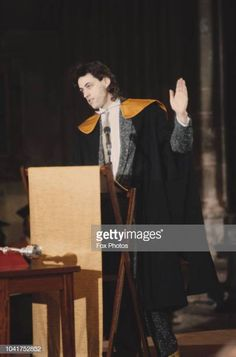 Singer and Live Aid organiser Bob Geldof receives an honorary degree in Humanities from Canterbury University UK July 1985 Pamela Stephenson, The Boomtown Rats, Madonna Live, Gary Kemp, Alison Moyet, Martin Kemp, Bands