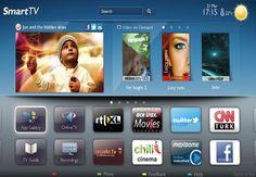 Philips 2012 Smart TV UI