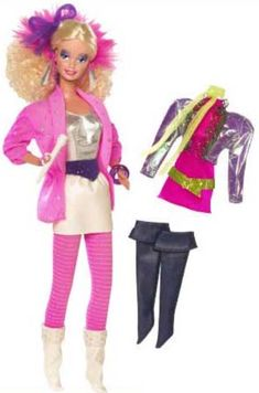 The Barbie and the Rockers Reproduction is a reproduction of Rocker Barbie, first released in 1985. Barbie's Rock Band members were Rockers Dana, Dee-Dee, Derek, Diva and Ken. There were two issues of the Rocker Dolls (except for Ken), the second versions were released in 1986.