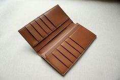 (9) Name: 'Sewing : leather wallet long wallet pattern PDF