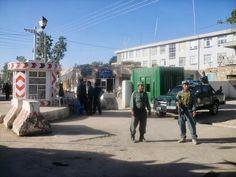 Puesto de control de la policía afgana, forados y entrenados por las tropas españolas desplegadas en Afganistán #afganistán #ejércitoespañol