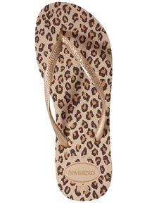 d9486ae0eaa35 Havaianas Women s Slim Animal Flip Flops Animal Flip Flops