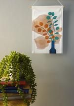 Our mini wall hangings feature original botanical designs printed on thick, quality canvas fabric and suspended from natural Tasmanian oak with cotton twine - ready to be hung as a perfect addition to your home or office space. Affordable Art, Silver Dollar, Wall Hangings, Twine, Canvas Fabric, Wall Art, Space, Printed, Natural