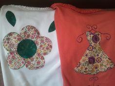 Todas Las Cositas De Carmen: Patchwork Camisetas aplicaciones