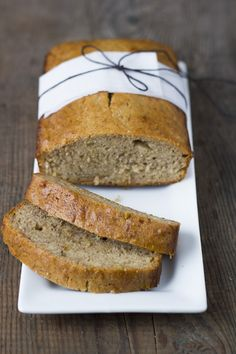 Cinnamon honey banana bread |