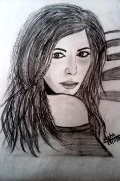 Stunning sketch of a girl