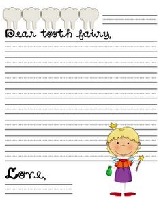 cute idea for kids that loose teeth at school. Get dentist to donate toothbrushes and attach the Dear tooth fairy letterhead and there is a download that says: I lost a Tooth! Hooray!
