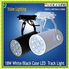 9W jewellery shop led track light , white color track lighting