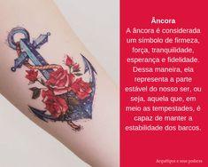 Âncora Facebook Sign Up, Watercolor Tattoo, Tattoo Meanings, Tattoos, Tatoo, Temp Tattoo