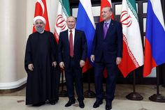 Russia, Turkey, Iran Propose Conference on Postwar Syria's Future
