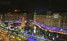 Bucharest Christmas lights Foto: Andreea Titianu Bucharest, Romania, Christmas Lights, Wanderlust, America, Places, Christmas Fairy Lights, Usa, Lugares
