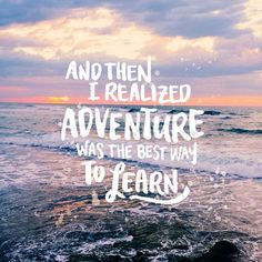45 Effective Inspirational Travel Quotes Of All Time travel quotes, inspirational travel quotes, hand lettering, photo and lettering by arriane serafico Work Quotes, Daily Quotes, Quotes To Live By, Me Quotes, Motivational Quotes, Inspirational Quotes, Photo Quotes, Journey Quotes, Friend Quotes