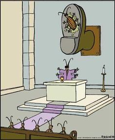 Because religion is laughable. Funny atheist/secular/religious memes, jokes, parody and satirical humour. The Far Side, Humor Religioso, Far Side Comics, Atheist Humor, Atheist Beliefs, Christianity, Gary Larson, Funny Memes, Hilarious