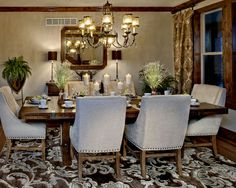 Mediterranean Dining Room Design, Pictures, Remodel, Decor and Ideas - page 37