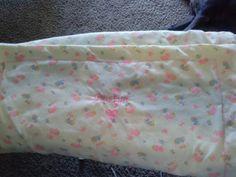Custom embroidered reciving blanket ($20)
