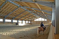 Riding halls - Riding facilities - Halls - Farm Buildings - Wolf System Germany