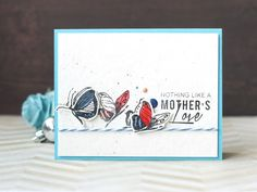 Simple, sweet and playful are the words that come to mind when we see this card – It would brighten up anyone's day! www.altenew.com