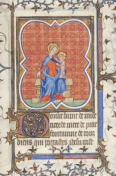 Book of Hours, MS M.141 fol. 173r - Images from Medieval and Renaissance Manuscripts - The Morgan Library & Museum