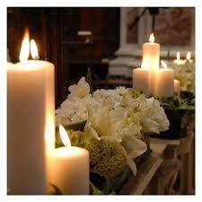 Risultati immagini per addobbi chiesa matrimonio con candele