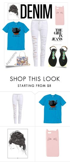 """""""Messy hair don't care day"""" by shaunna-cross ❤ liked on Polyvore featuring Charlotte Russe"""