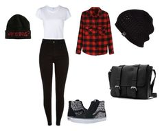 """Sin título #5"" by luna-giuliana on Polyvore featuring moda, RE/DONE, Vans y UGG Australia"