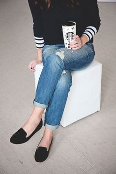 jillgg's good life (for less)   a west michigan style blog: my everyday style: boyfriend jeans!