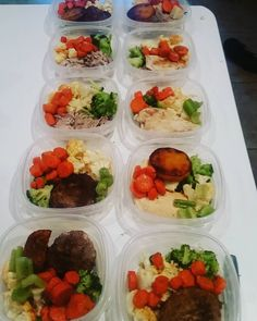 Meal prep all done for the week! Yayy me! #healthychoices #goals #stickingtoit #iwontstop #mealprep #sunday #healthy #health #gymlife #gymfun #itsmylife #iwillmakemehappy #paleolifestyle #foodporn #foodpic #mealprepsunday #almost #2yrs #now @ChrisDeome I love that we do this!!