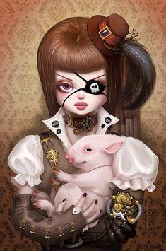 piratee girl :)