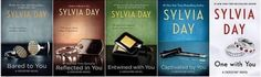 The Crossfire Series - In Reading Order, by Sylvia Day  i liked these way more than fifty shades