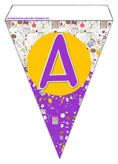 Alfabeto em forma de varal http://aartedeensinareaprender.blogspot.com.br/2015/01/alfabeto-em-forma-de-varal.html