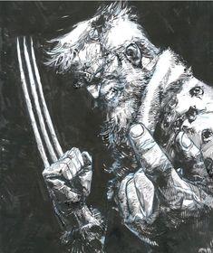 Art By Gerardo Zaffino Rogue Comics, Marvel Comics Art, Manga Comics, Marvel Heroes, Storm Marvel, Marvel Wolverine, Logan Wolverine, Comic Book Characters, Marvel Characters