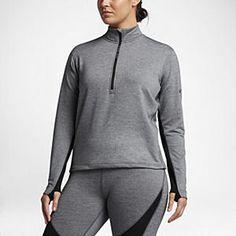Nike Pro HyperWarm (Plus Size) Women's Long Sleeve Training Top