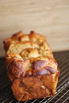 Cinnamon Dulce de Leche & Poached Pear Chopped Bread   Always Order Dessert