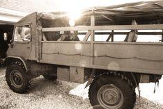 Unimog 404 troop transport Swiss 1962