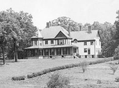 Richmond Pearson house reported to be haunted. It sits high on a bluff above the French Broad River, northwest of Asheville, NC.   The house was built in 1889, the private home was considered one of the most elegant and innovated buildings of its time.