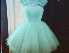 Bd07154 Charming Homecoming Dress,A-Line Homecoming Dress,Tulle Homecoming Dress, Appliques Short Pr on Luulla