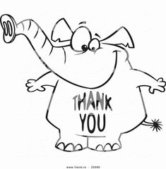 coloring book : printable thank you free coloring card in