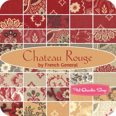 Chateau Rouge Yardage French General for Moda Fabrics - Fat Quarter Shop