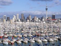 Auckland, NZ - City of Sails