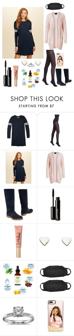 """""""Untitled #410"""" by tody-3 ❤ liked on Polyvore featuring Hollister Co., SPANX, Object Collectors Item, Beauty Is Life, Too Faced Cosmetics, Fat Face, Blue Nile and Casetify"""