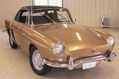 1959 Renault Caravelle Cabriolet. The first thing I noticed about this car is how much the designers of the first Ford Mustang must have admired it.