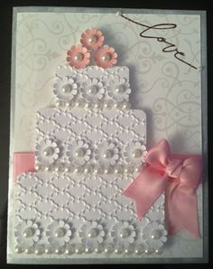 handmade wedding cards stampin up - Google Search: