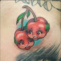 This tattoo by Lauren Stephens is pretty sweet. #InkedMagazine #kewpie #tattoo #tattoos #cute