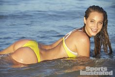 Hannah Davis Swimsuit Photos - Sports Illustrated Swimsuit 2014 - SI.com Photographed by Ben Watts at the Jersey Shore