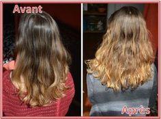 hot sales c230d 8c17d miel-eclaircir-cheveux-avant-apres-dixit-madame Cheveux Naturels,
