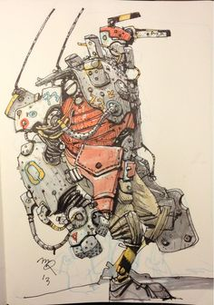 One more marker mech