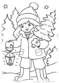 New Year and Christmas 3 coloring, coloring pictures for kids. Coloring Pages To Print, Coloring Book Pages, Coloring Pages For Kids, Christmas Books, Christmas Crafts, Kids Christmas, Coloring Pictures For Kids, Christmas Planning, Operation Christmas Child
