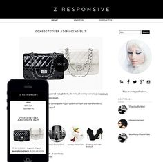 zamareenda, modern fashion blogger template is responsive now. Let's redesign our blogspot,